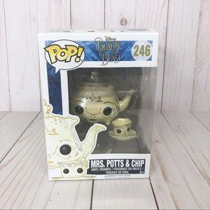Funko POP Disney Beauty & the Beast Mrs Pots Chip